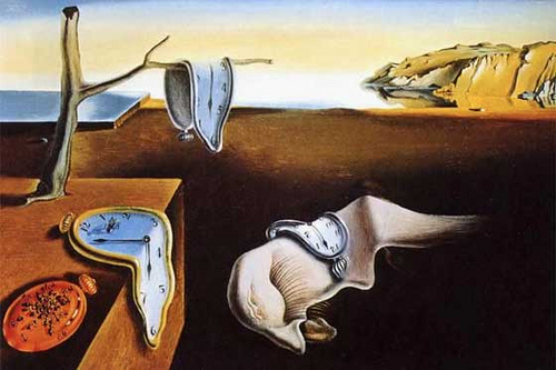 The-persistence-of-time-dalì